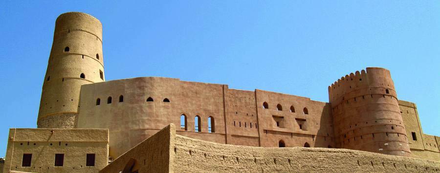 Incontro con l'Oman - Oman Nakhl Fort