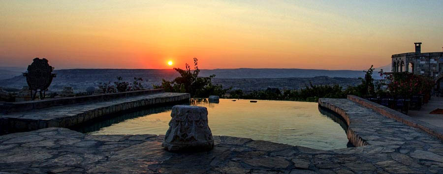 Cappadocia, fascino immutato - Turkey, Cappadocia Sunset View from the Museum Hotel