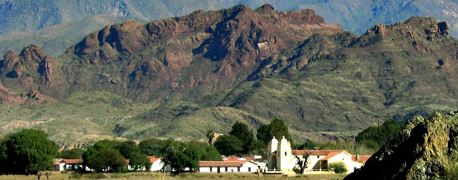 Argentina - Hacienda de Molinos, VIew from Ruta 40