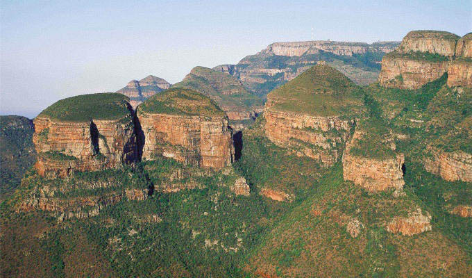 Mpumalanga, The Three Rondavels - South Africa
