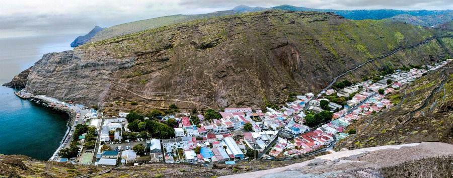 Il mondo in un'isola - St Helena Island Jamestown, Panorama © Paul Tyson
