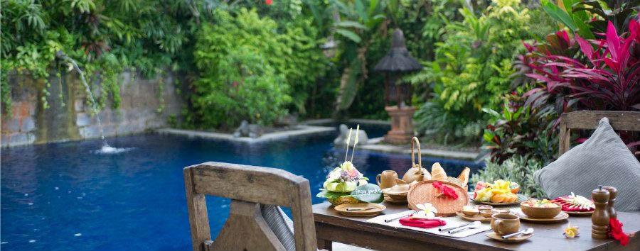 Indonesia, mare al Tugu Bali - Indonesia Tugu Bali, Breakfast at Barong Garden