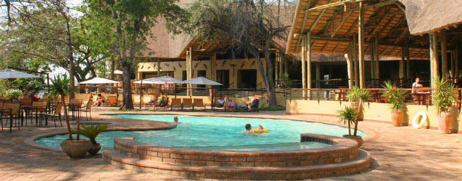 Chobe Safari Lodge - Pool Area