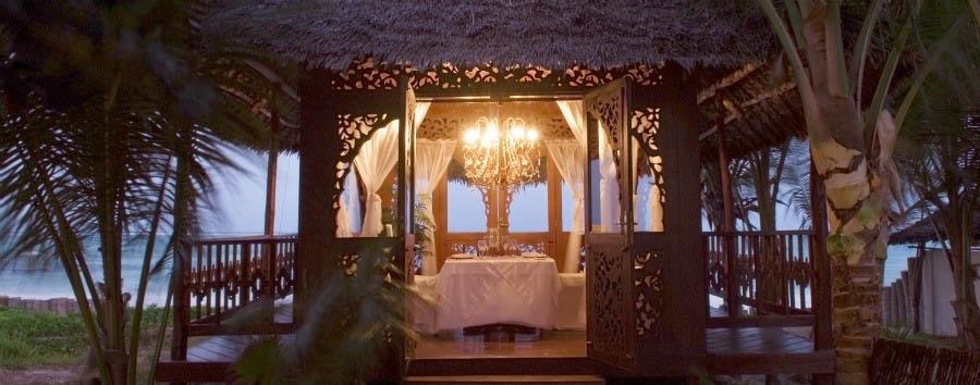 Breezes Beach Club & Spa Zanzibar - The Tides - Private Beach Dining