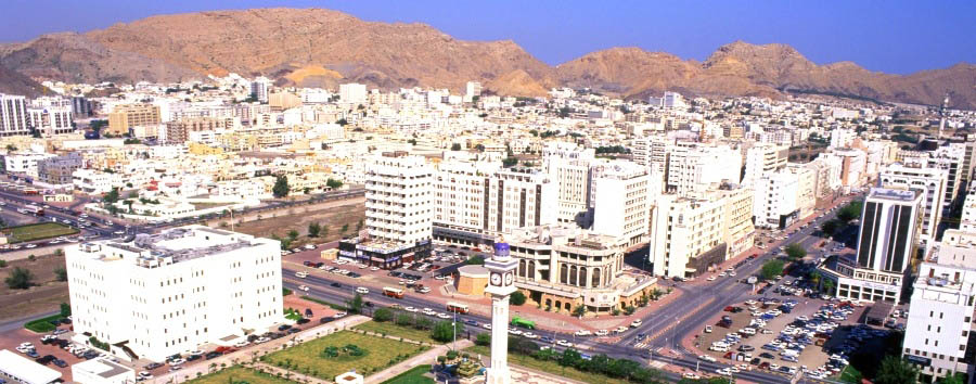 Oman, cuore d'Arabia - Oman Muscat Aerial View