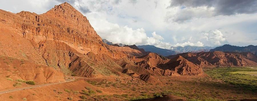 Ruta 40, da Mendoza a Salta - Argentina Valle de Lerma