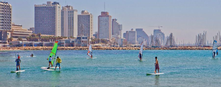 Two Cities One Break - Tel Aviv Surfing