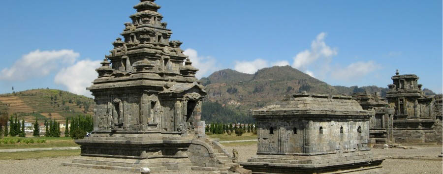 Indonesia - Java, Dieng Plateau, Arjuna Temple Group © Michael Gunther