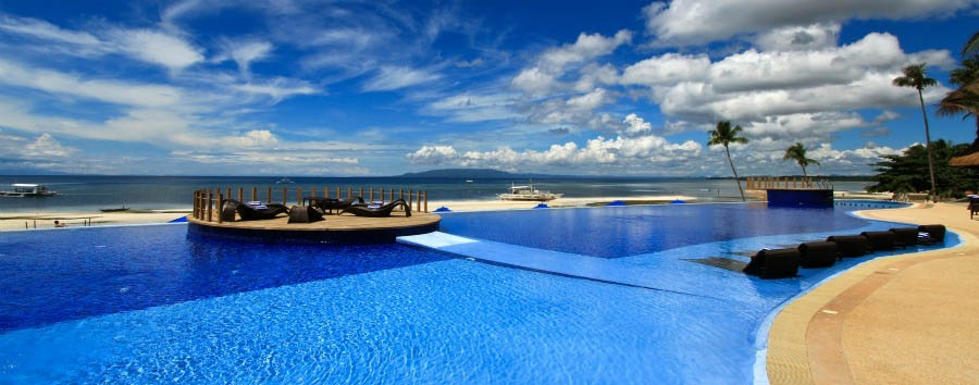 Mare a Bohol - Philippines Bohol, Panglao Island, The Bellevue Hotel, Pool Area