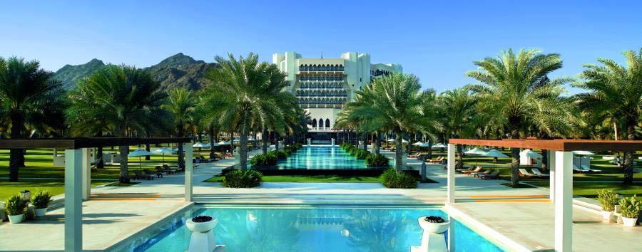 Al Bustan Palace, A Ritz Carlton Hotel - Infinity Pool - Daylight