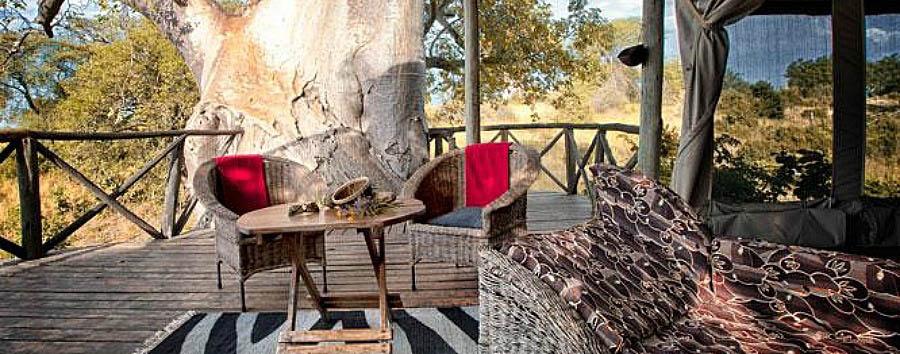 Tarangire River Camp - Verandah