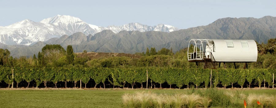 Argentina - Entre Cielos, View of the Vineyards and the Limited Edition Loft