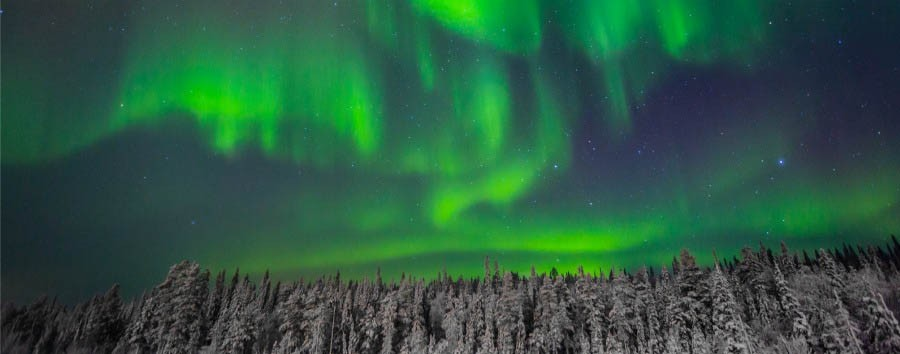 A caccia dell'aurora boreale - Finland Ylläs, Northern Lights © Taipale Brothers/Visit Finland
