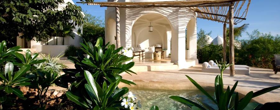Zanzibar, Kilindi boutique hotel - Zanzibar Kilindi Pavilion exterior view