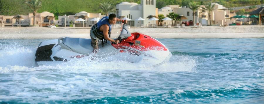 Ras Al Khaimah - The Cove Rotana Resort, Jet Skiing