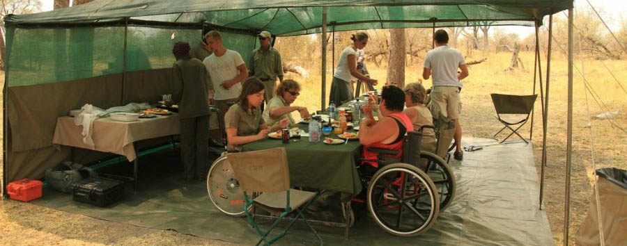 Botswana per tutti - Botswana Lunch at the Camp