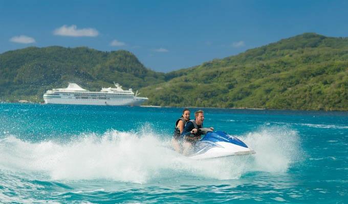 Jet Ski Excursion in Bora Bora - French Polynesia