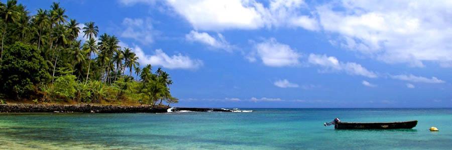 Il paradiso d'Africa - São Tomé Turquoise sea