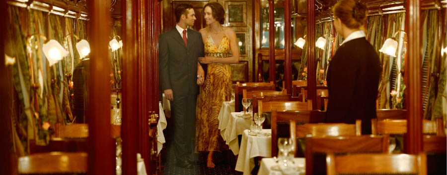Rovos Rail, Victoria Falls journey - South Africa Elegant Dining car