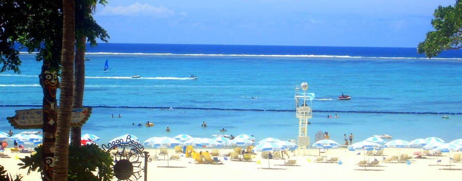 Le bianche spiagge di Okinawa - Japan Okinawa, Moon Beach
