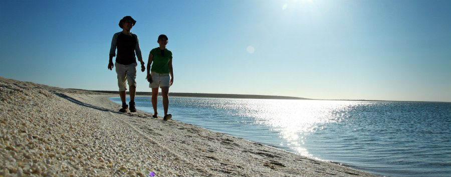 Australia, West Coast Drive - Australia Western Australia, Shell Beach © Tourism Western Australia