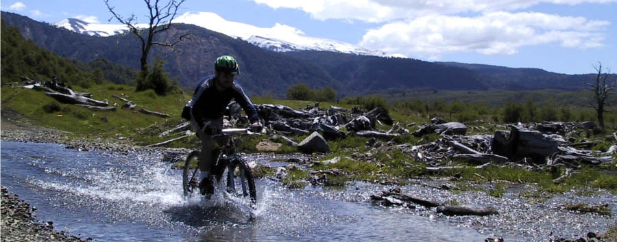 Nawelpi Lodge - Mountain bike in Puerto Fuy