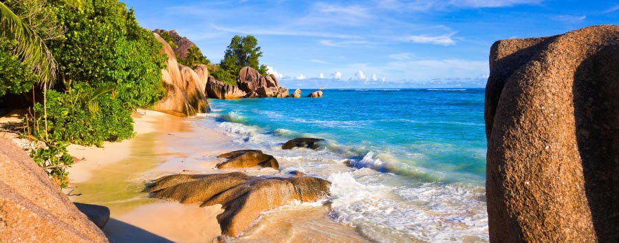 Seychelles - Anse Source d'Argent in La Digue Island
