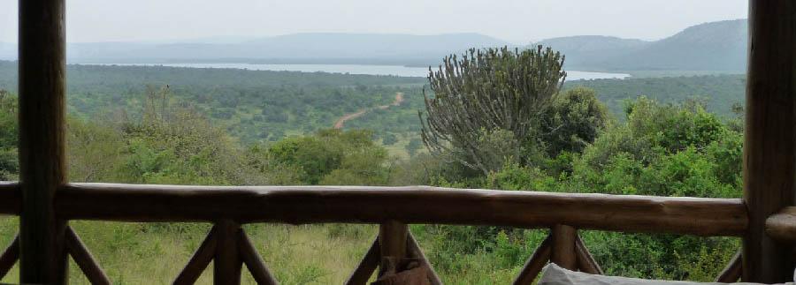 Mantana Tented Camp - View of the Lake Mburo