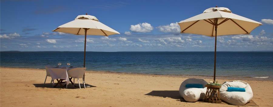 Quilalea, Star of Mozambique - Mozambique Quilalea Private Island, Beach Picnic for Two