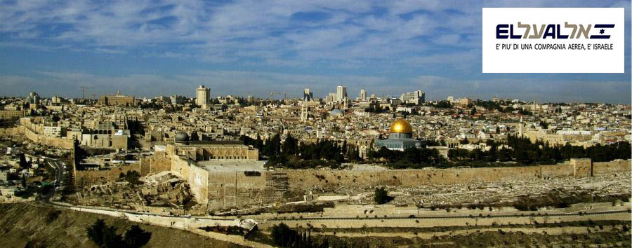 Jerusalem Shabbat Shalom - Israel, Jerusalem City View from The Mount of Olives