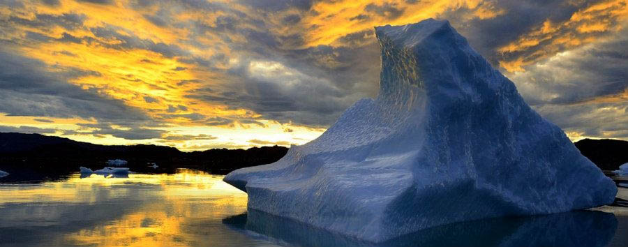 Greenland - Iceberg in Sunset © Ole J. Petersen/VisitGreenland A/S