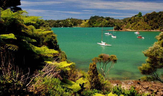 Russel, Bay of Islands - New Zealand