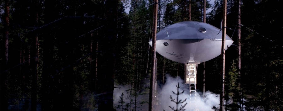 Treehotel+-+The+Ufo%2C+Exterior