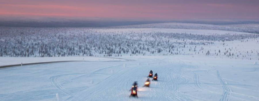 Finlandia: alla scoperta della Lapponia - Finland Snowmobile © Tumlare
