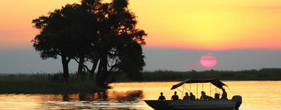 Botswana Baobabs - Botswana Chobe River Sunset Cruise © Sunway Safaris