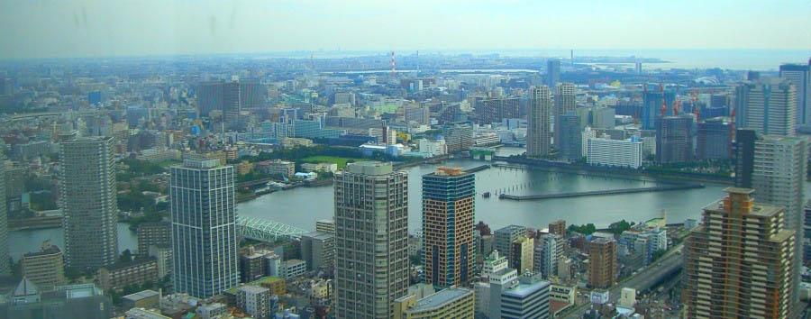 Riflessi di Tokyo - Japan Tokyo, Aerial View