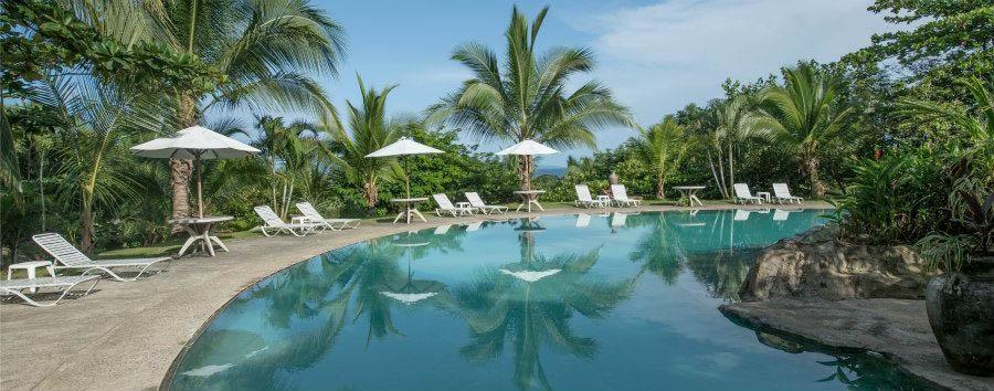 Bocas del Toro à la carte - Panama Popa Paradise Beach Resort, Pool Area
