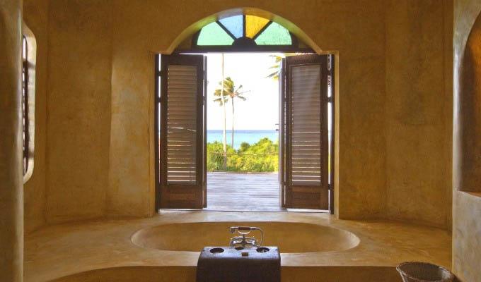 Matemwe Retreat, Amazing view from the bathroom - Zanzibar