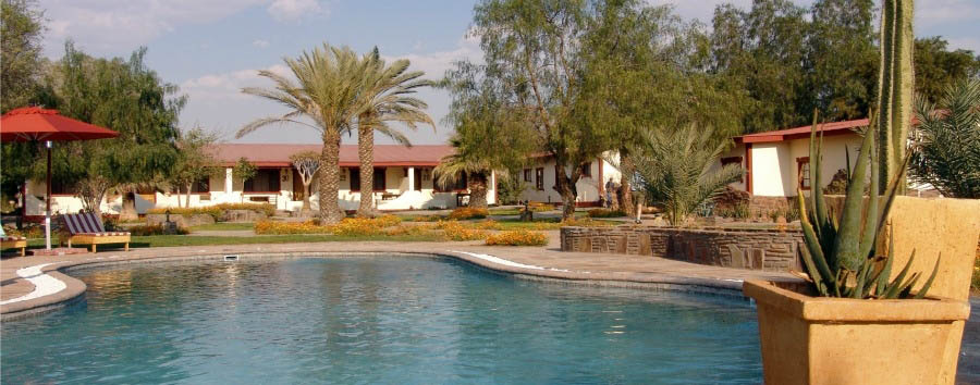 Namib Desert Lodge - Pool Area