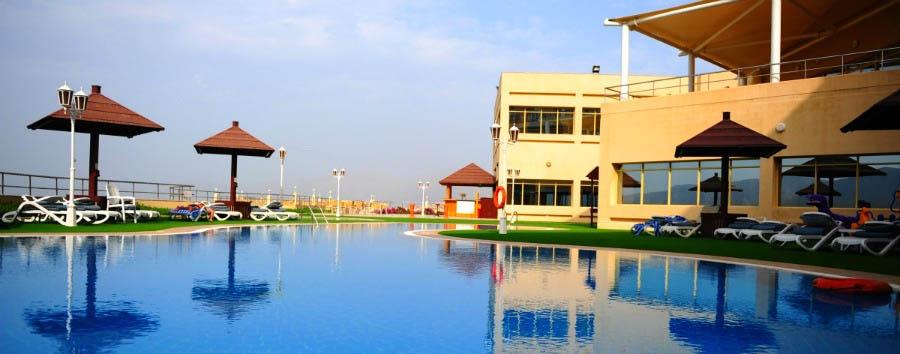 Atana Khasab Hotel  - Pool view