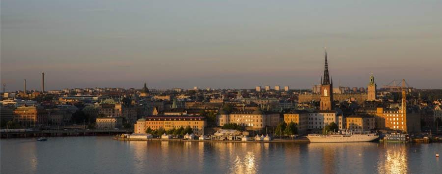 Le Capitali del Nord - Sweden Stockholm, Panorama © Susanne Walström/imagebank.sweden.se