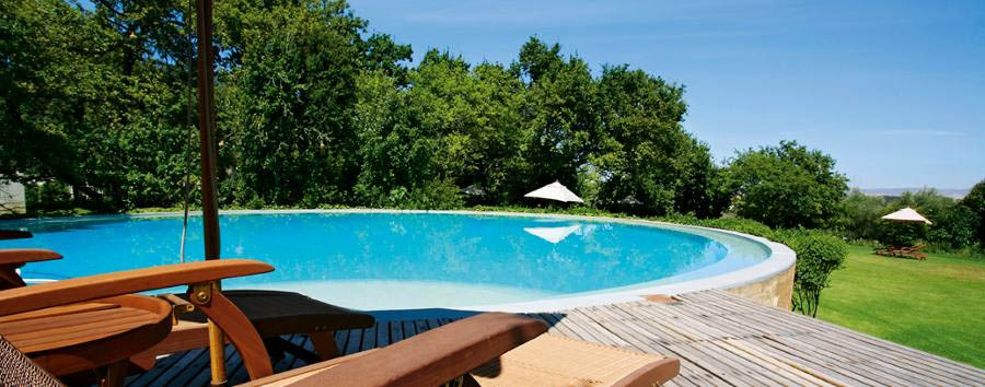 Bartholomeus Klip Farmhouse - Poolside