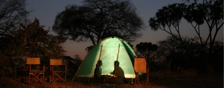 Jongomero Camp - Fly Safaris - Sleeping under the stars