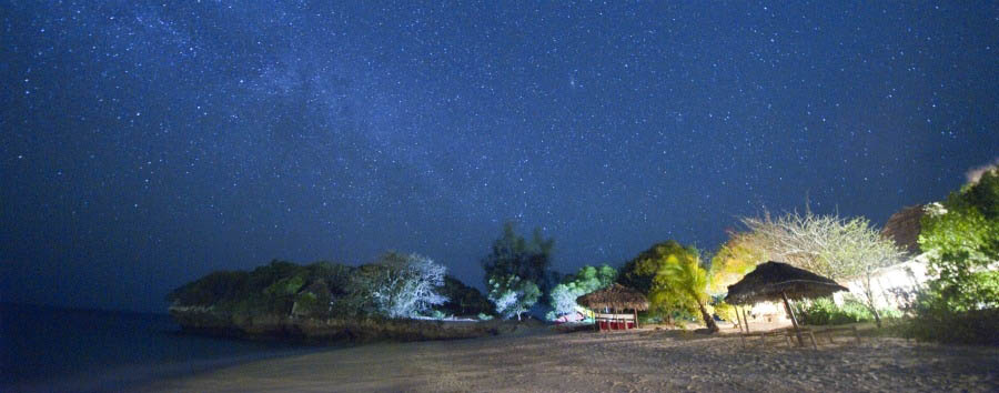 Safari e Quilalea - Mozambique Azura at Quilalea, Starry Night