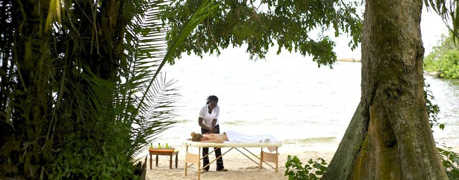 Unique Lake Victoria Experience - Tanzania Rubondo Island Camp, Massage on The Beach