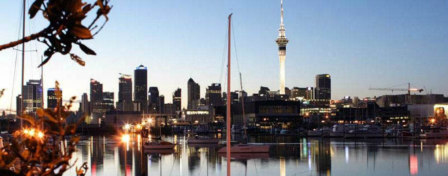 Benvenuti a Aotearoa - New Zealand View of Auckland © Tourism New Zealand