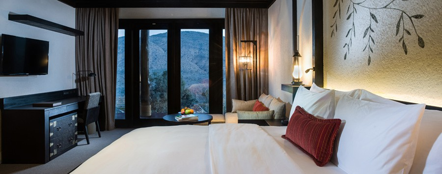 Oman al Top - Oman Mountain View Suite at Alila Jabal Akhdar