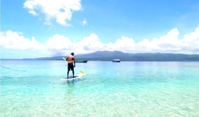 Qamea Resort & Spa, Paddle-Boarding - Fiji