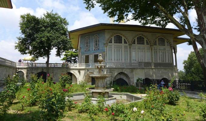 Istanbul, Topkapi Palace, Mecidiye Pavilion - Turkey