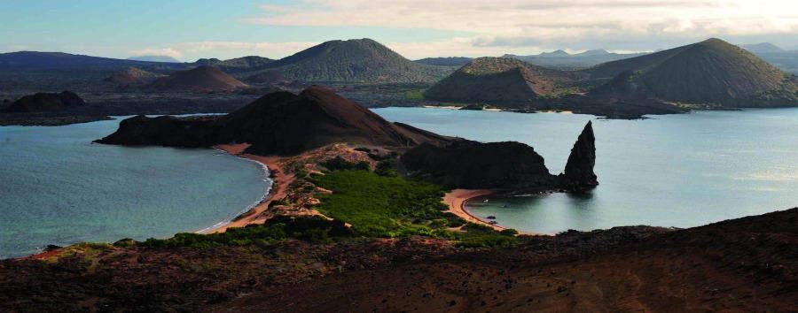 Lo Mejor de Ecuador - Ecuador Gálapagos Islands, Bartolome Island Aerial View